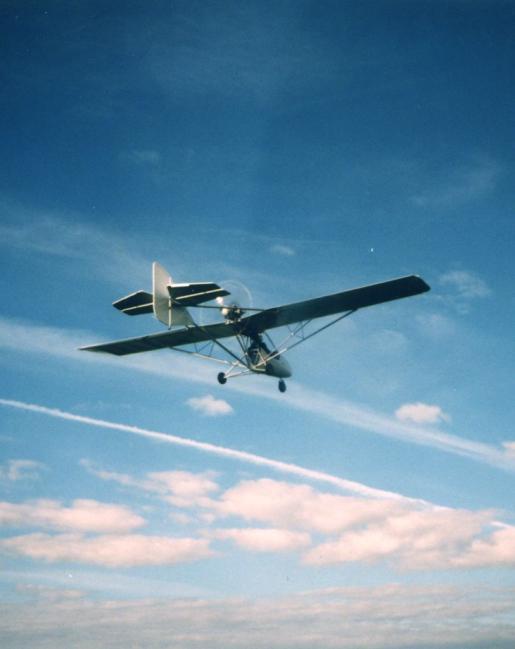 Gryf Interplane in flight