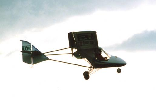 Gryf TIB flying