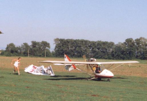 Gryf ULM1 advertisement flights for WS