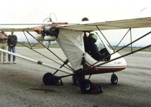 Gryf ULM1 with Astro engine