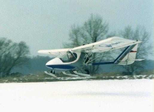 Skyboy 001 with Verner engine and skies