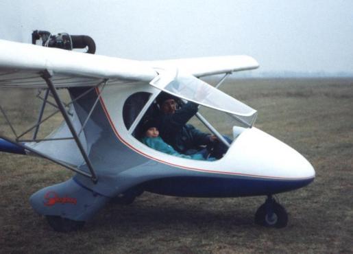 Skyboy prototype with Jakub
