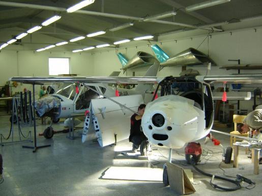 GRYF Aircraft sro Hluk production