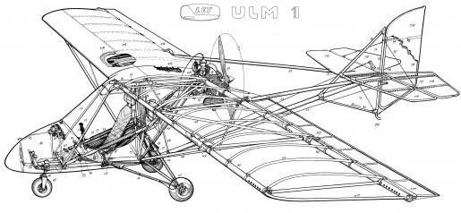 Gryf ULM-1 cuttaway