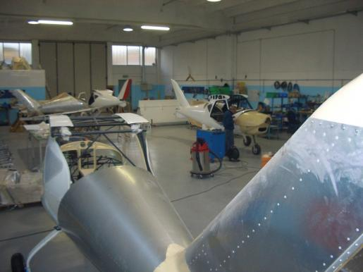 Flyitalia production facilities