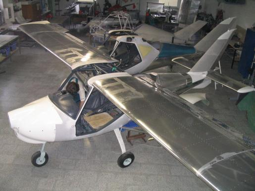 GRYF Aircraft sro production facilities