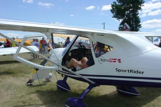 SportRider at Oshkosh 2005
