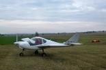 Gryf P27 test flight of Miro Janák