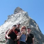 Summer 2010 - Gryf club near Matterhorn